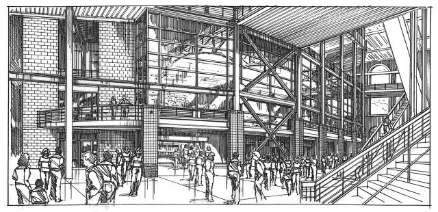 Ballparkcorridor