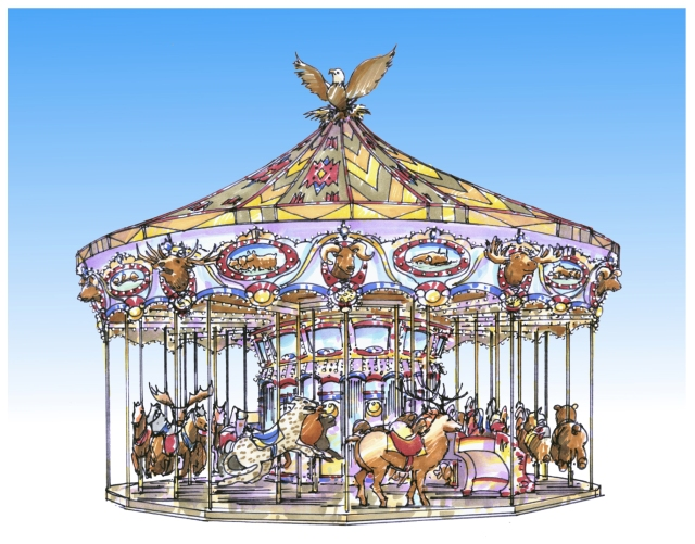Carousel color2k